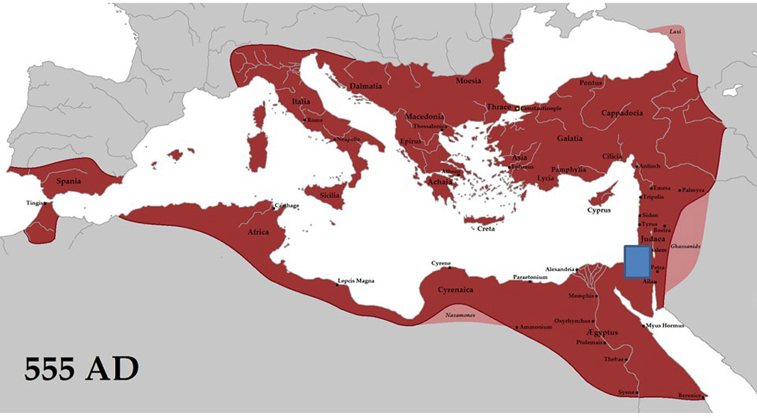 Crisis on the Margins of the Byzantine Empire - About on